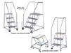 STAINLESS STEEL & ALUMINUM ROLLING LADDERS